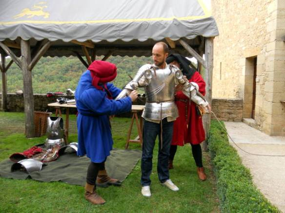 Dressing of the armour
