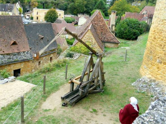 Firing of the trebuchet